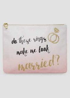 #FashionVault #ashley stewart #Women #Accessories - Check this : Bride To Be Tech Pouch for $10.99 usd