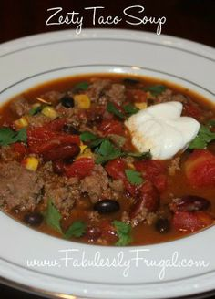 This Taco soup is the real deal. Fresh authentic and easy to make!
