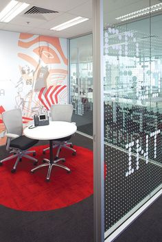 ASICS Branded Environment by There Design, via Flickr