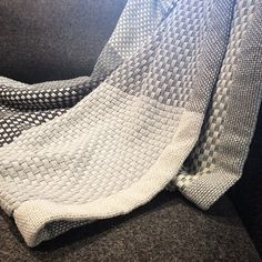 From our very own showroom: The Muuto Loom Throw Grey #muuto #loomthrow #grey #greyscale #cotton #scandi #scandidesign #scandinavian #design #nest #nestcouk