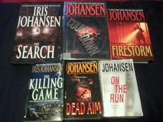Lot of 6 Iris Johansen Novels  $9.99