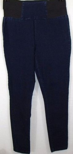 Forever 21+  Plus Size Dark Blue Denim Jeggings or Pants, Size XL #FOREVER21 #CasualPants