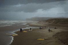 Harry Gruyaert. FRANCE. Nord-Pas-de-Calais region. Pas de Calais department. Beach of Wissant. Cote d'Opale. 1998