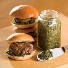 Argentinean Beef Sliders Recipe with Chimichurri Sauce