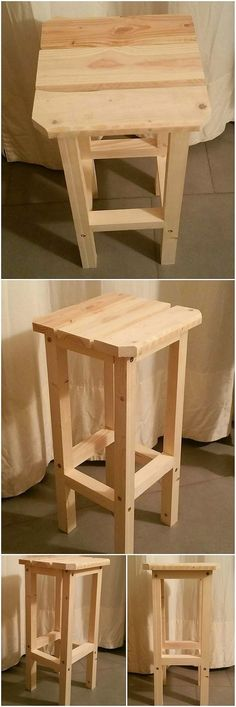 This stylish wood pallet creation is somehow a sort of the stool piece that is rich with the decency and effects of sophistication into it. It is being fully customized with the variations of simple cuts and hues into that ends it so wonderful and worth-mentioning for the household use.