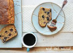 Greek Yogurt Blueberry Banana Bread | Nosh and Nourish