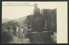 Antigo Cartão Postal Tipográfico: Réservoir aux environ..