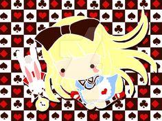 Alice in Wonderland by Kitsune-Petit.deviantart.com on @DeviantArt