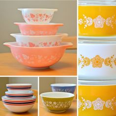 Scissors and Spice: Bowl-a-rama! Vintage Pyrex and Cathrineholm Preview