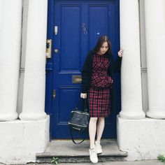 Stylebook: The Red Tartan in London   Rouge Closet
