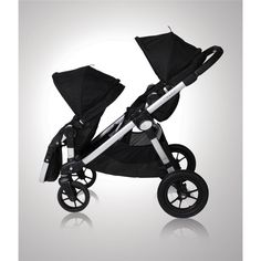 amazoncom baby jogger city select stroller with 2nd seat onyx jogging strollers