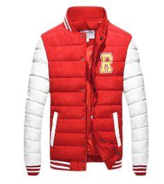 QualityUC Mens United States Superior Padded Winter Baseball Jacket
