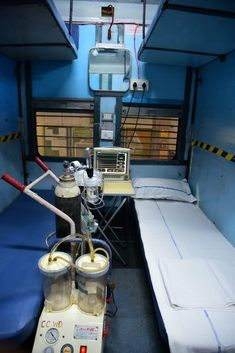 Isolation Ward for Covid-19 by Indian Railways deployed in Delhi is very first of its kind. As per Railway Ministry the first isolation ward for Covid -19 has been started at Delhi Railway station on 1-Jun-20 as per government guidelines.
