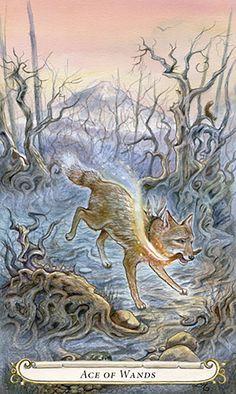 L'as de bâtons - Le Conte de Fées de Tarot par Lisa Hunt