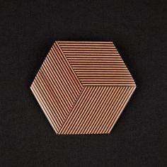 Geometric Jewelery (Georges Larondelle Brooch)