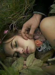And when thou art weary I'll find thee a bed, Of mosses and flowers to pillow thy head --John Keats