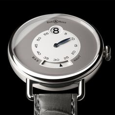 Bell & Ross WW1 Heure Sautante Platinum - watch