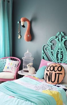 Teen Girl Bedrooms tip 2930884727 - Cozy yet super cool bedroom styling tactic and examples to produce a stunning and really cooooool living space. Desire for added examples why not check out the pin to study the post idea now! Kids Room, Home Decor, Girls Bedroom Colors, Bedroom Decor, Girl Bedroom Decor, Trendy Bedroom, Diy Home Decor Bedroom Girl, Diy Home Decor On A Budget, Kid Room Decor