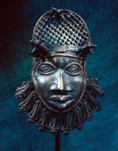 Benin Bronzes...British forces entered Benin City in 1897 they were surprised to find large quantities of cast brass objects. The technological sophistication and overwhelming naturalism of these pieces contradicted many 19th-century Western assumptions about Africa. http://www.zyama.com/benin/pics..htm