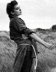 visual optimism; fashion editorials, shows, campaigns & more!: vent du nord: andreea diaconu by gregory harris for vogue paris october 2014