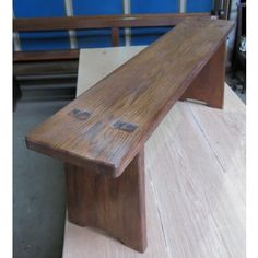 Oak Bench Made from Old Church Chapel Pew Seats made to measure (E)