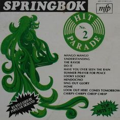 Springbok: Springbok Hit Parade Volume 01 To 30 Prayer For Peace, Sing Out, African History, Afrikaans, Manga, Album Covers, Childhood Memories, Music Music, South Africa
