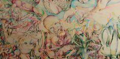 dutch artist kai kuper colour pencil drawings on wooden panel Dutch Artists, Pencil Drawings, Colored Pencils, Kai, Colour, Painting, Colouring Pencils, Color, Painting Art