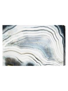 Marea Agate (Canvas) from Geology Inspired Design: Art & Rugs on Gilt