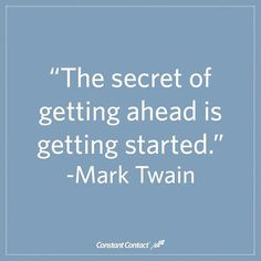 Ready for success? Decide on your first step and then take that leap!