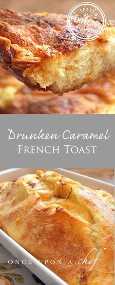Drunken Caramel French Toast   #frenchtoast #caramel