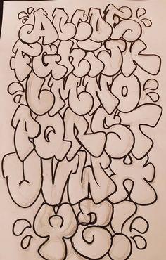 Graffiti Lettering Alphabet, Graffiti Text, Graffiti Words, Graffiti Doodles, Graffiti Writing, Tattoo Lettering Fonts, Cool Lettering, Shetland, Graffiti Designs