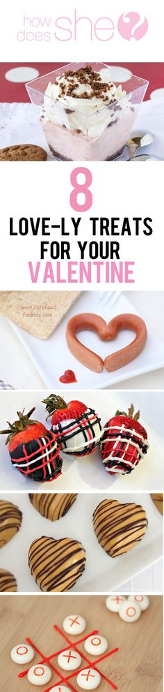 8 LOVE-LY recipes to treat your sweetheart for Valentine's Day!