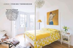 25 Beautiful Homes: - home truths 25 Beautiful Homes, Bedroom Eyes, Le Corbusier, Ceiling Lamp, Townhouse, Flooring, Spaces, Furniture, Home Decor