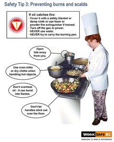 kitchen safety - Google Search
