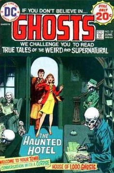 Cover boy Nick Cardy loves to draw weddings for this comic! Here's a haunted honeymoon before the Gene Wilder/Gilda Radner movie that proved to be spooky!