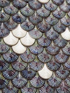cristina celestino / plumage artigianalità del mosaico per ceramiche botteganove