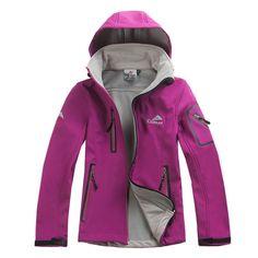 1847184075 Fashion Female Outdoors Waterproof Softshell Jacket Women Windbreaker Warm  Breathable Casaco Windstopper Coat Jaqueta Feminina -