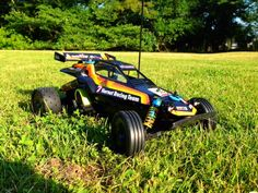 Tamiya Hornet rc car. the remote controlled.