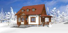 Daca iti place stilul neoromanesc, atunci trebuie sa vezi casele proiectate de arhitectul Adrian Paun! - Fabrika de Case Home Fashion, Gazebo, House Plans, Outdoor Structures, House Styles, Interior, Home Decor, Design, Garage