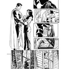 Another page from SUPERMAN: LOIS AND CLARK #3. Look for the first issue on shelves this October. by dccomics