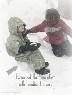 """""""Snow Fort Construction"""" - Nature for Kids    http://natureforkids.net/2013/02/21/snow-fort-construction-and-a-new-app-called-vine/#"""