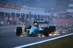 Mauricio Gugelmin Leyton House - Ilmor 1991 The Leyton House March was BY FAR my favorite car as a kid. The lines, the livery…everything. Belgian Grand Prix, Italian Grand Prix, Le Mans, F1 Motorsport, Adrian Newey, Formula 1 Car, Racing Team, Auto Racing, Performance Cars
