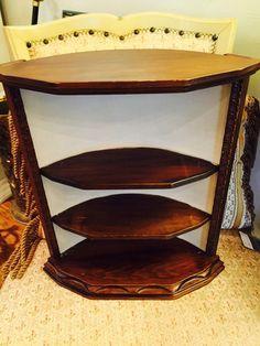 Greystone Fine Furniture - Vintage corner wall shelf $45