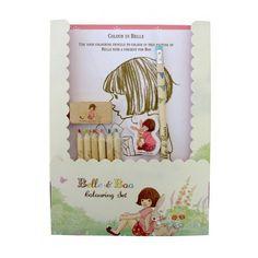Set de Coloriage Belle & Boo sur www.roseandmilk.com