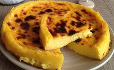 Flan pâtissier sans pâte à 2 SP, recette d'un flan parisien très léger sans pâte, ultra crémeux et onctueux avec un bon parfum de vanille, facile à faire.