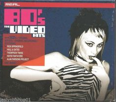 Real '80s: Video Hits  Box  by Various Artists (CD, Oct-2004, 3 Discs, BMG...