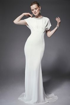 Zac-Posen resort-2015 dress, bridal