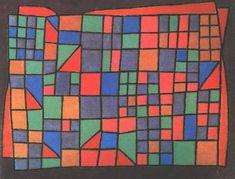Glass Facade, 1940, Paul Klee