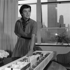 In 1943 Florence convinced Hans to let her work for the Knoll furniture company. It was her plan to work with architects in expanding the business into interior design. She succeeded, and he was impressed...