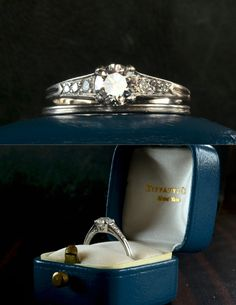 1953 Tiffany & Co Engagement Ring and Band